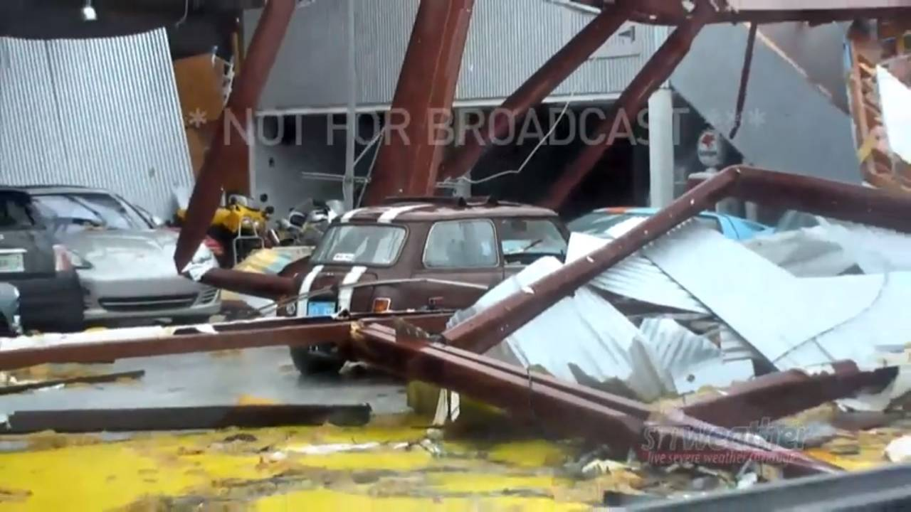 Cars Damaged During Hurricane Michael