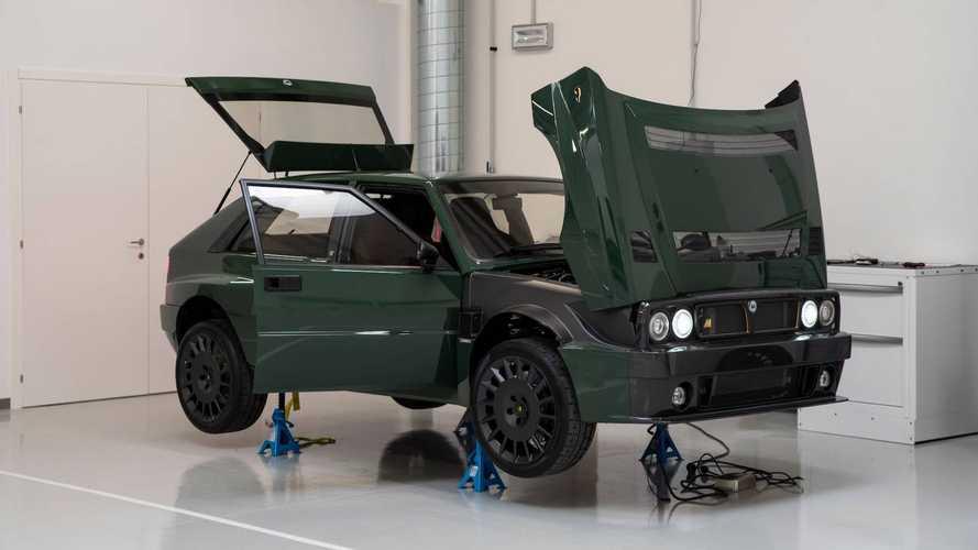 Lancia Delta: cara a cara con el Futurista