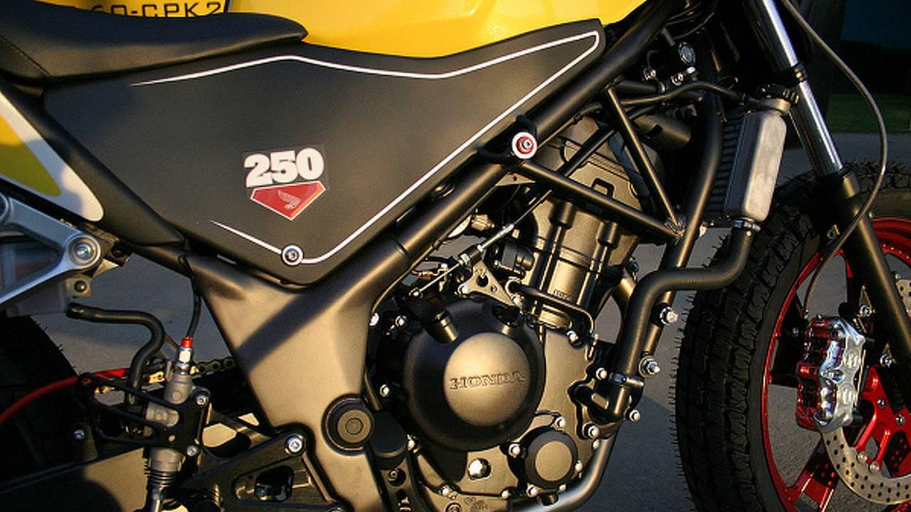 Custom: Ride for Kids CBR250 tracker