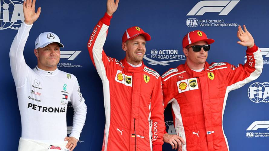 German GP: Vettel beats Bottas to pole, drama for Hamilton