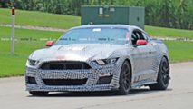 2019 Ford Mustang Shelby GT500 Track Pack Spy Shots