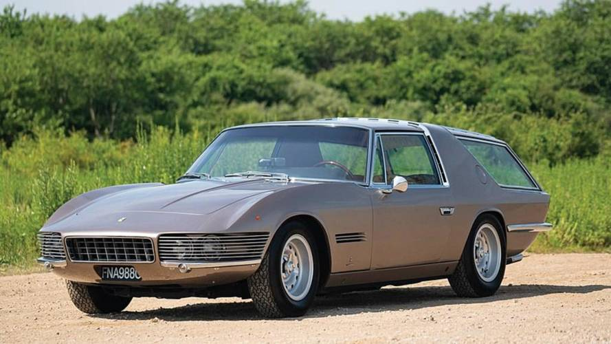 One-Off 1965 Ferrari 330 GT Vignale Shooting Brake Up For Grabs