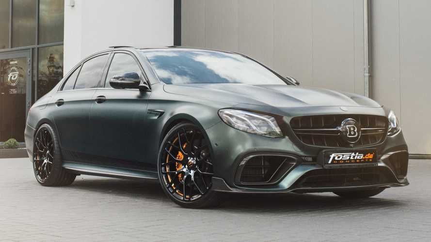 Brabus AMG E63 with 789 bhp is a jolly green giant