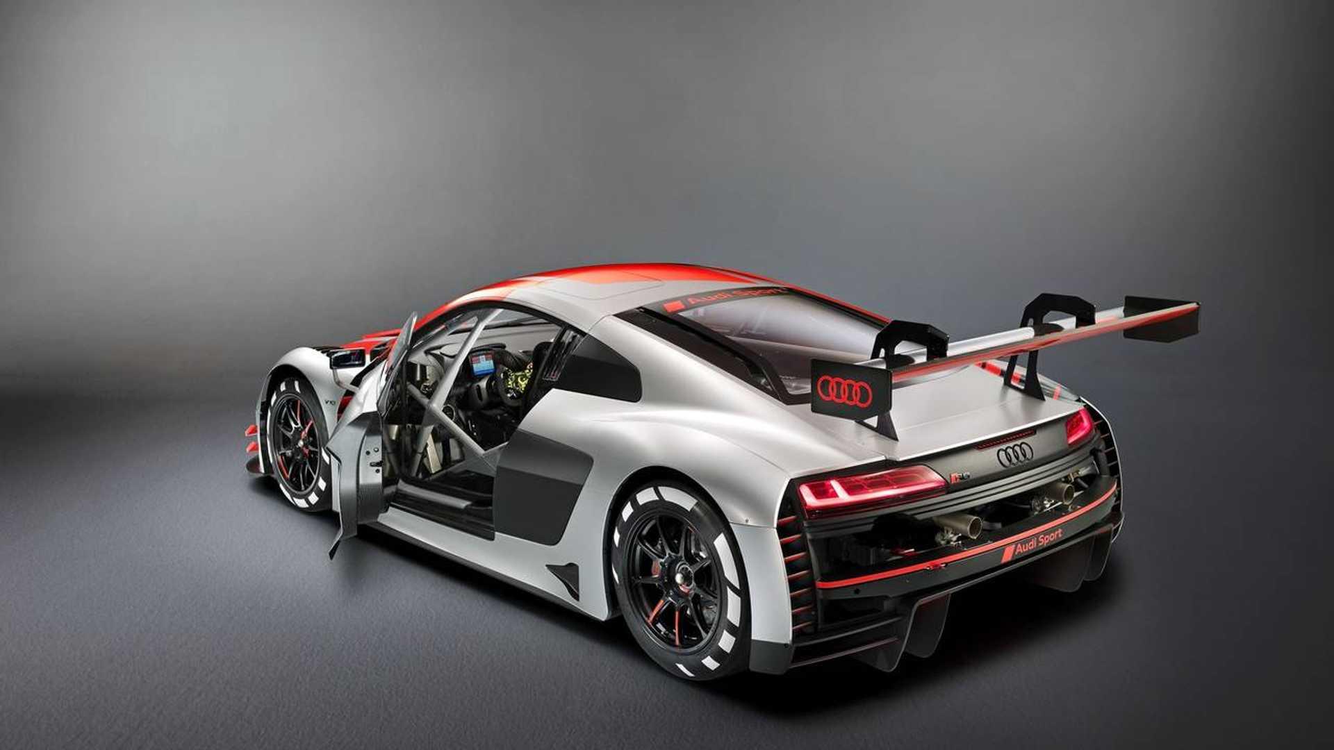 2019 Audi R8 LMS GT3 revealed at Paris Motor Show