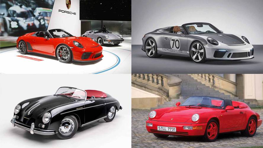 See Design Evolution Of Porsche Speedsters From 1955 To Today