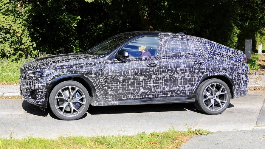 Next-Generation BMW X6 And X6 M Spied Looking Production-Ready