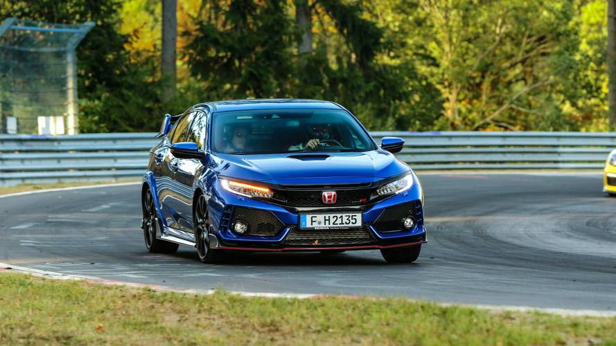 Essai Honda Civic Type R - Nürburgring