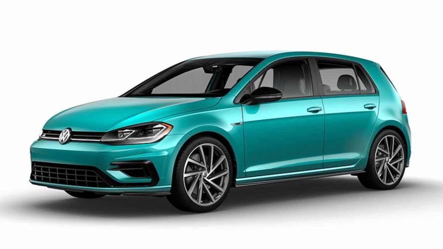 Volkswagen Golf R 2019 Color Spektrum Program