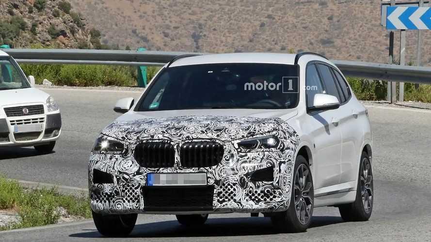 2020 BMW X1 new spy photos