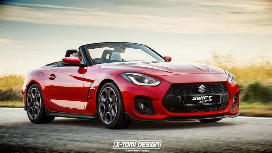 2019 Bmw Z4 Looks Surprisingly Nice With Suzuki Swift
