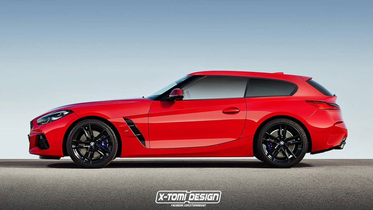 BMW Z4 Shooting Brake rendering