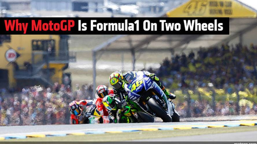 Why MotoGP Is Formula1 On Two Wheels