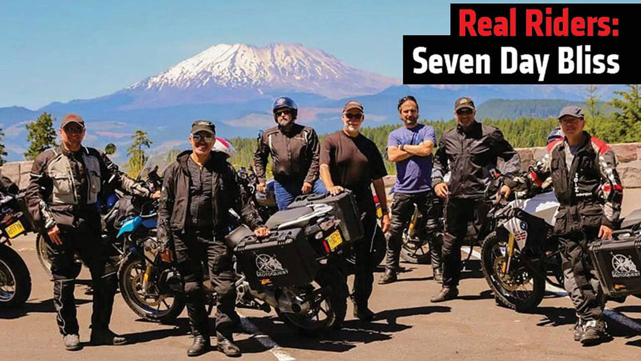 Real Riders: Seven Day Bliss