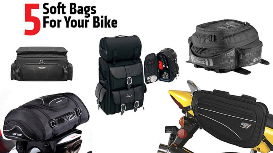 Gear: 5 Soft Bags For Your Bike