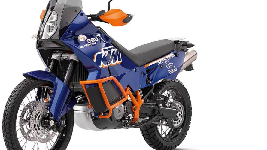 KTM 990 Dakar celebrates rally domination