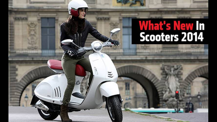 What's New In Scooters 2014
