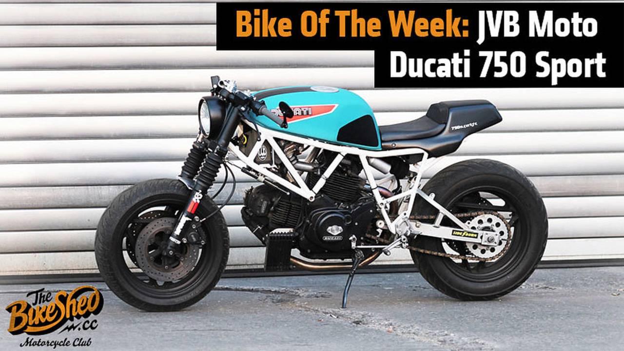 Bike Of The Week: JVB Moto Ducati 750 Sport