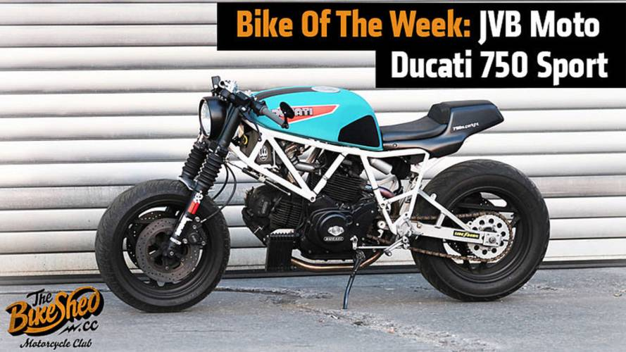 Bike Of The Week: JVB Moto Ducati 750 Sport