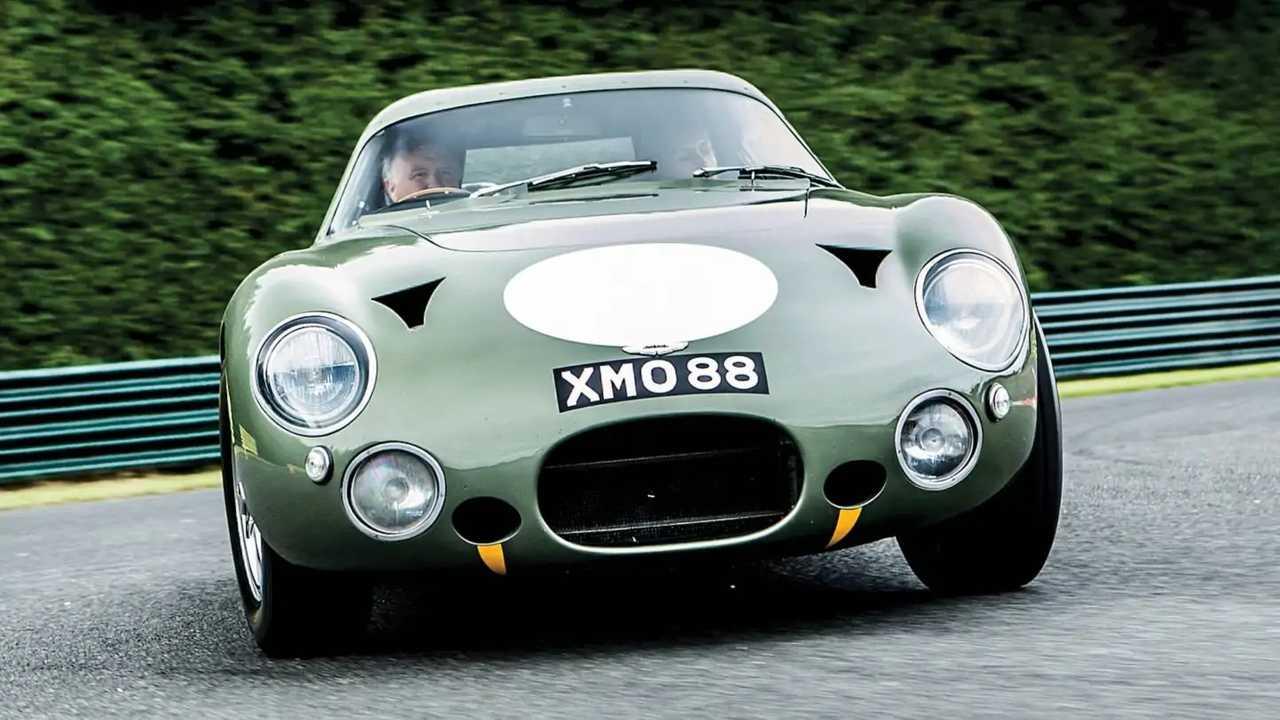 1963 Aston Martin DP215 Grand Touring Competition prototype 9