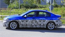 BMW 1 Series Sedan facelift spy photo