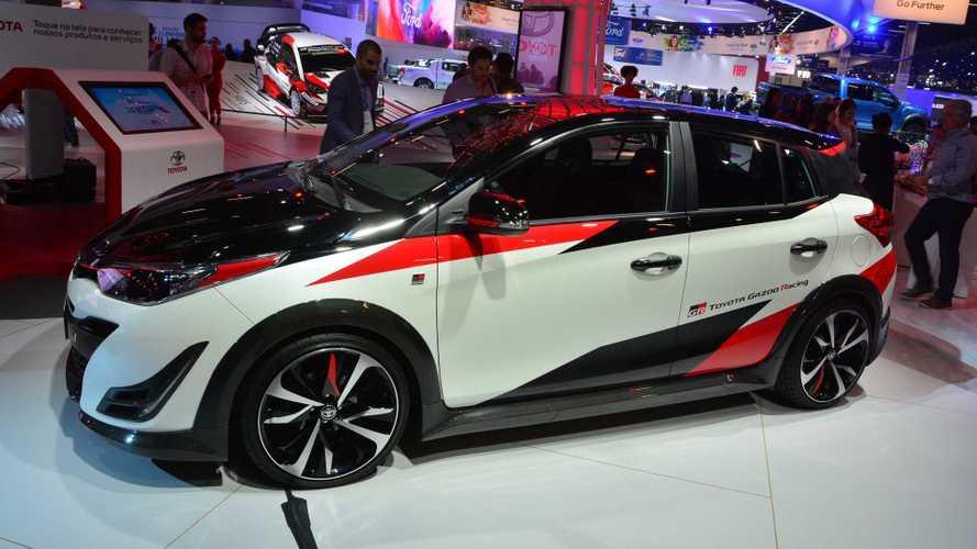 Salão de SP: Toyota Yaris GR-S Concept antecipa versão de apelo esportivo