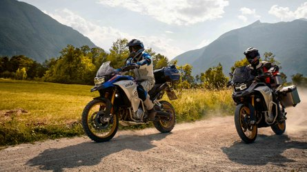 New BMW F 850 GS Adventure Shows Up At EICMA