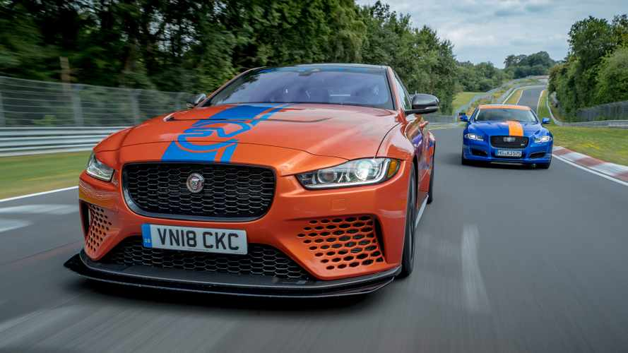 Jaguar XE SV Project 8 Nürburgring Record