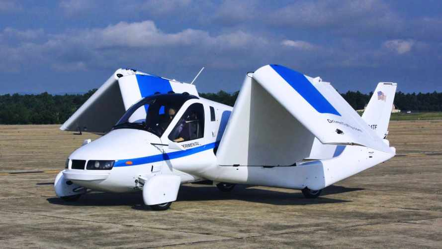 Uçan otomobil Terrafugia Transition, FAA onay belgesini aldı