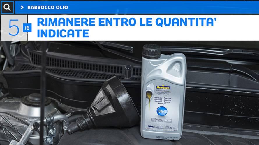 5 - Rabbocco Olio Motore
