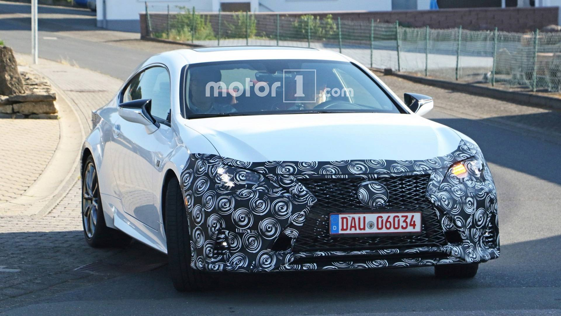 2019 Lexus Rc F Looks Like A Little Lc In Spy Photos Update