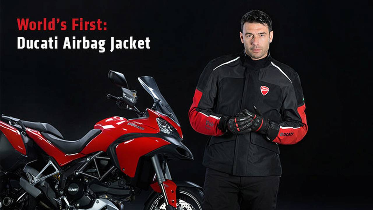 World's First: Ducati Airbag Jacket