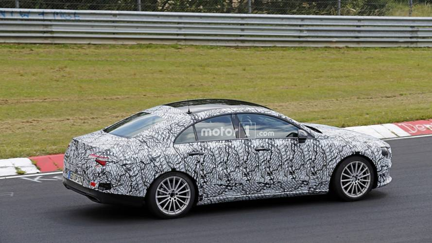 2020 Mercedes CLA spy photo