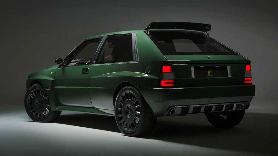 """Lancia Delta Futurista, concentrato di """"euforia, passione e nostalgia"""""""