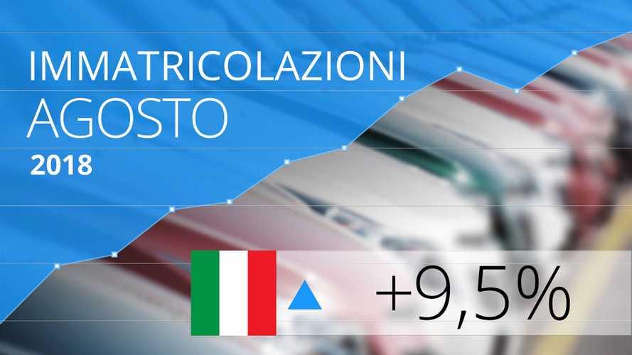 Mercato auto Italia, agosto in ripresa. Anche per il diesel!