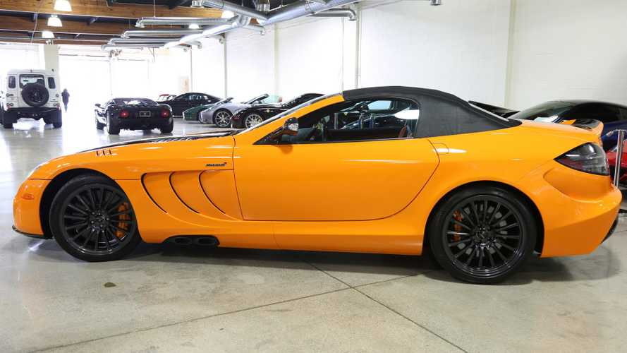 Mclaren For Sale >> One Off Mercedes Slr Mclaren 722s Can Be Yours For A Cool 1m