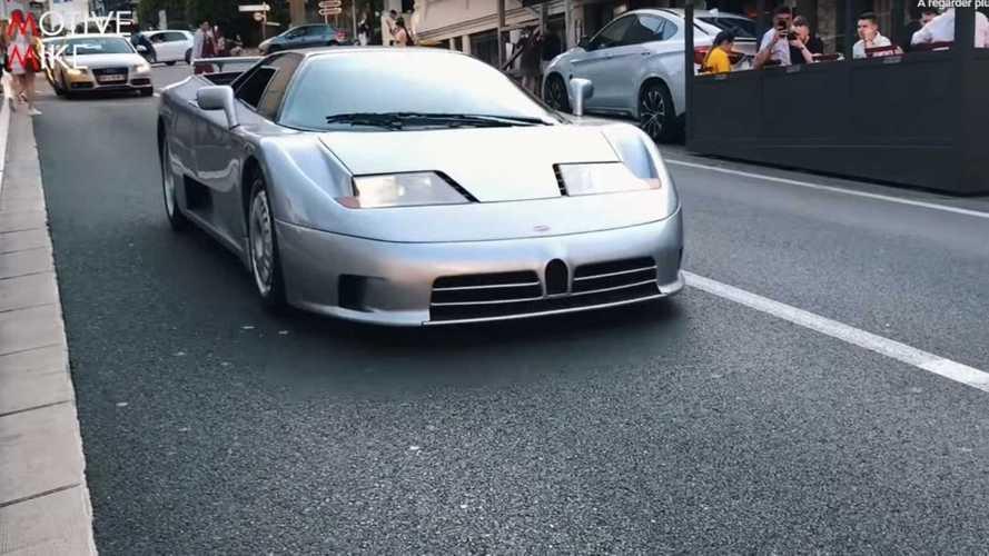 VIDÉO - Une Bugatti EB110 GT affole la principauté de Monaco