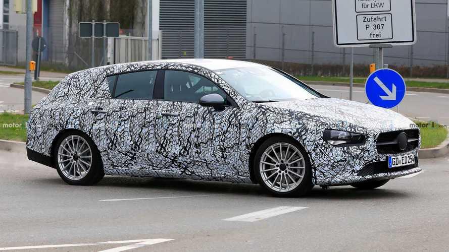 Mercedes CLA Shooting Brake, la nuova generazione spiata da vicino