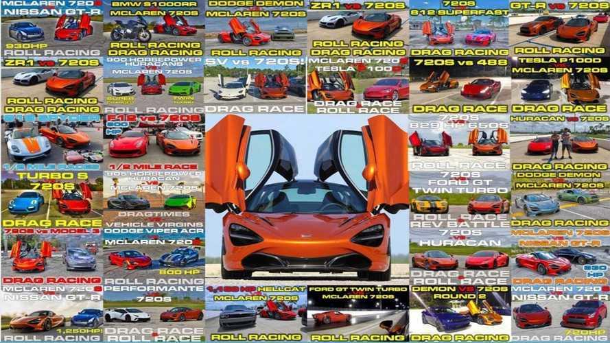 VIDÉO - La McLaren 720S atomise les supercars