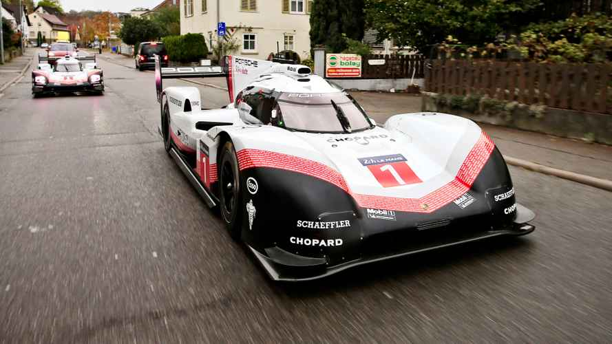 Porsche 919 makes final drive on public roads in Germany