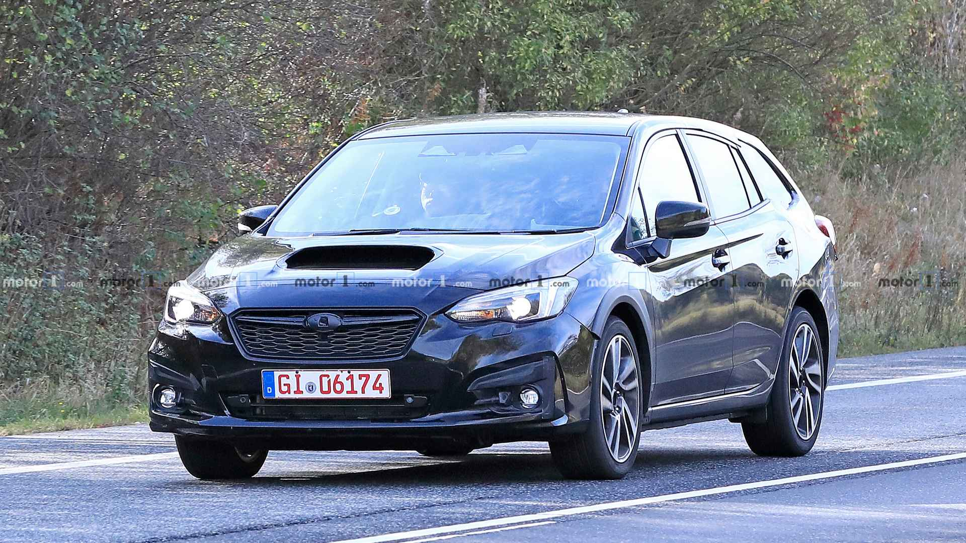 Subaru Levorg Test Mule Spied For The First Time