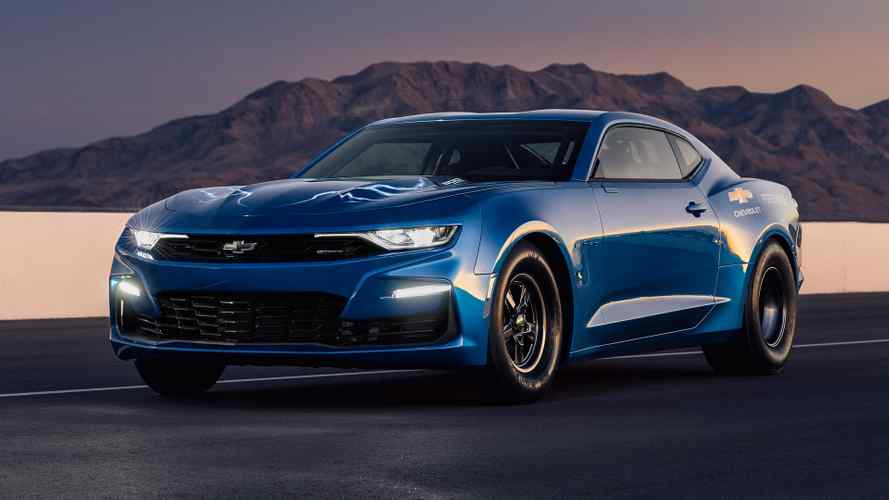Chevy eCOPO Camaro Concept Electrifies Drag Strip With 700+ HP
