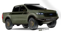 Baja-Forged Ford Ranger XLT FX4 SuperCrew