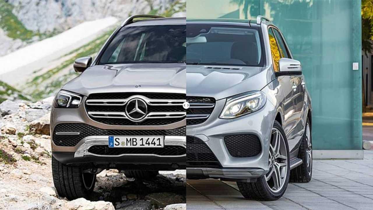 Mercedes GLE, nuova e vecchia a confronto