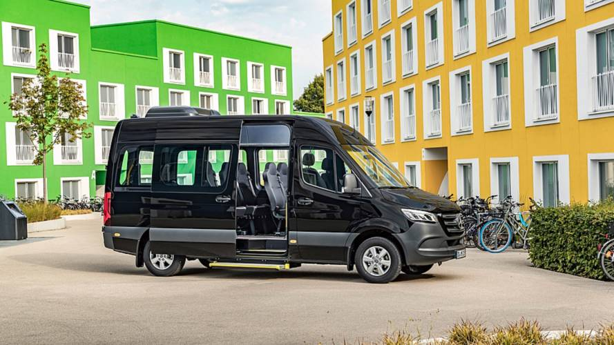 New Mercedes-Benz minibuses