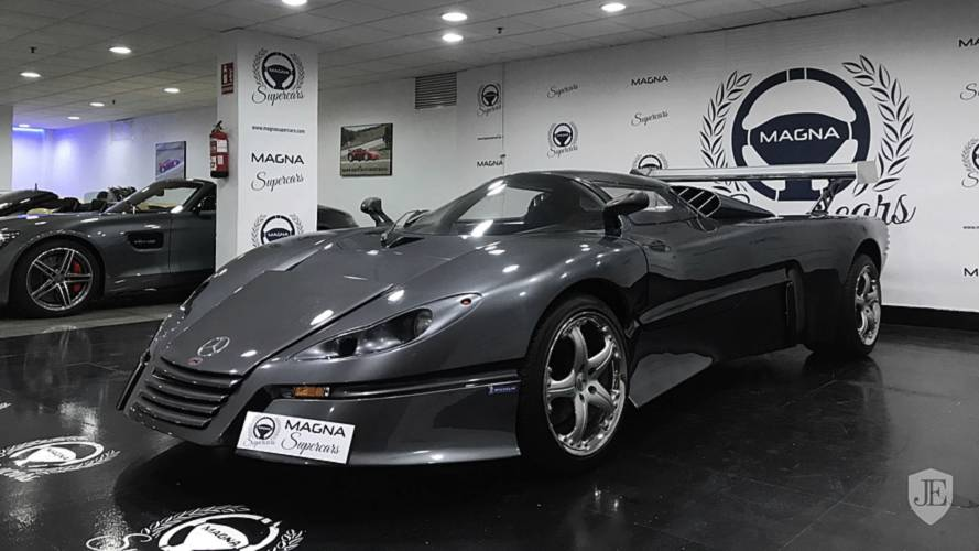 Stand Out With This Stunning Sbarro Espace GT1 Supercar