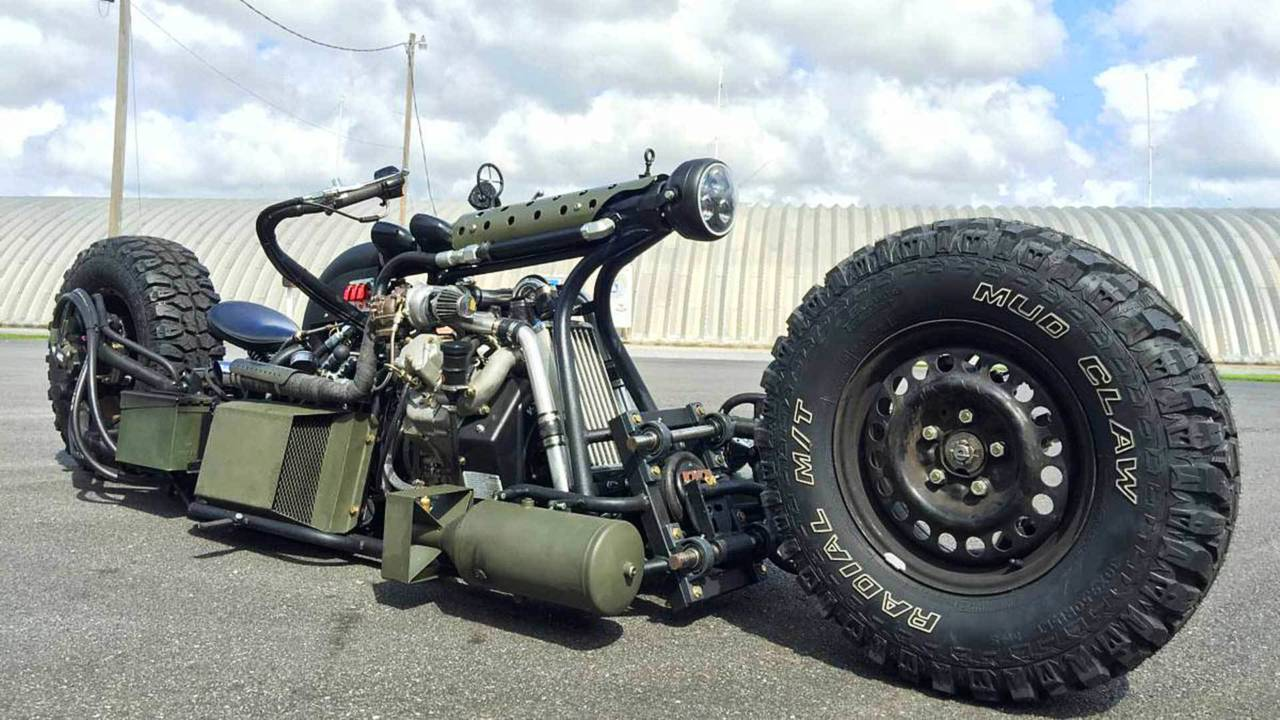 Hydrostatic Diesel Bike