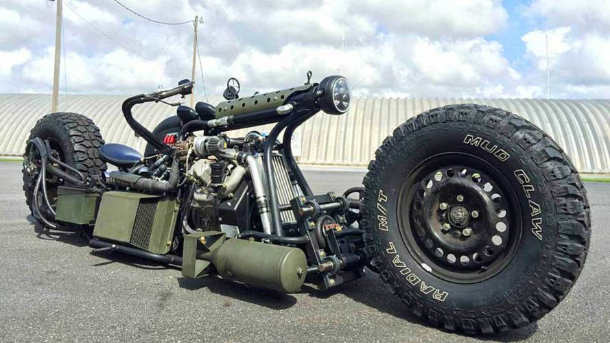 Cycleweird Short: Sam Turner's Bonkers Diesel Motorcycle