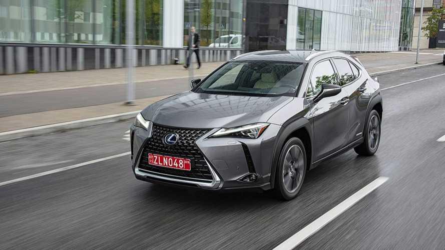 Lexus UX F bir hibrit olarak gelebilir