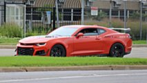 2019 Chevy Camaro ZL1 1LE Spy Shot