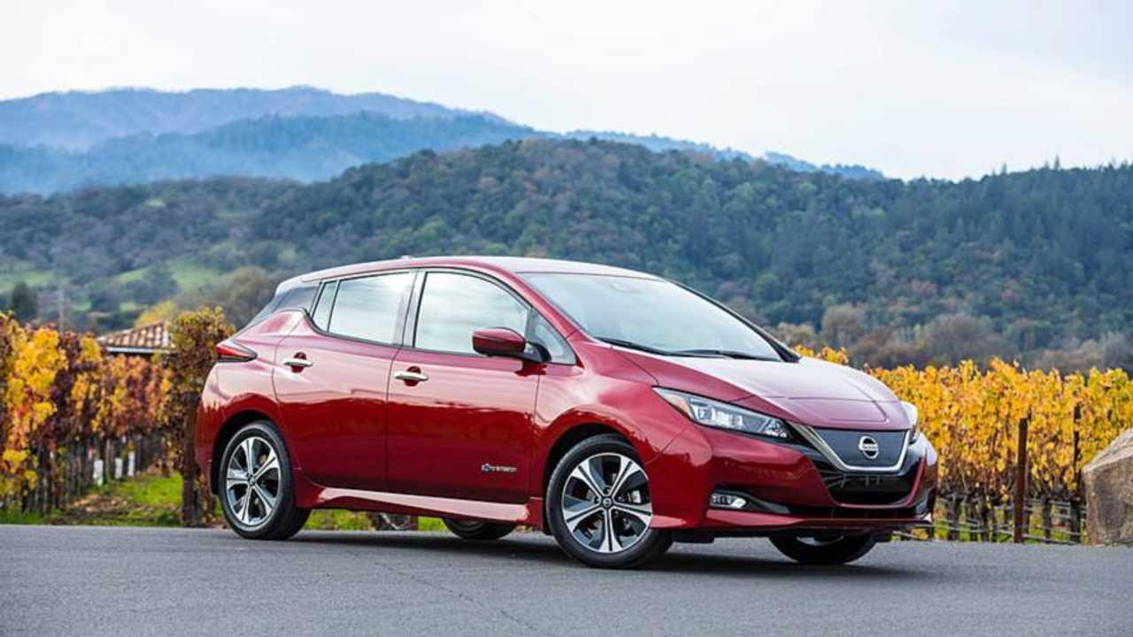 5. Nissan Leaf: 245 km
